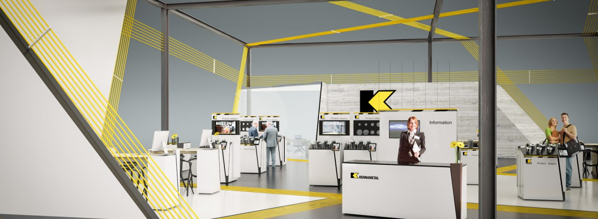 3D-Visualisierung Kennametal